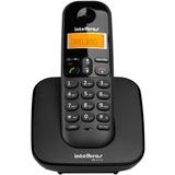 Telefone Sem Fio Intelbras Ts 3110 Preto Luminoso Dect 6.0