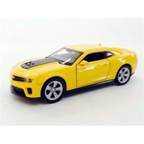 Miniatura De Chevrolet Camaro Zl1 Amarelo 1:39 Welly