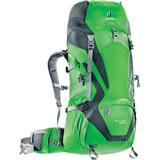 Mochila Para Trekking Deuter 50 + 10 Litros Act Lite Verde