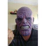 Mascara Thanos Avengers Latex Importado Halloween