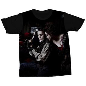 Camiseta Sweeney Todd Filme Musical Johnny Depp Camisa Blusa 51e74b8132d