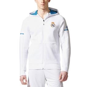 Campera Real Madrid Blanca - Camperas Clubes Masculinas de Fútbol en ... 2729b805a204c