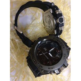 94b02644bf3 Relógio G Shock Aço Analógico E Digital Várias Cores Ofertão