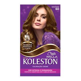 Coloração Creme Koleston Kit Louro Escuro 60