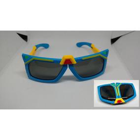 Óculos De Sol Infantil Transformes Dobravel Menino Polarizad 94c9d97bb6