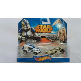 Pack Com 2 Carrinhos Hot Wheels Star Wars