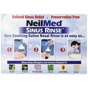Neilmed Sinus Rinse - Botellas 2 De Compresión 240 Ml (8 Fl