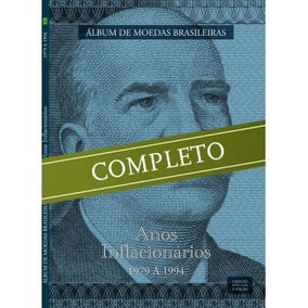 Novo Álbum Moedas Coleção Completa Inflacionário 1979 A 1994