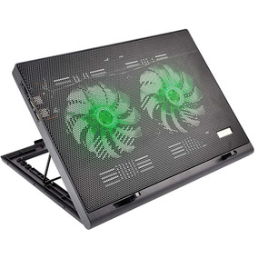 Power Cooler Gamer Para Notebook Multilaser Com Led - Ac267