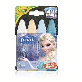 Chalk Giz De Calçada 04 Cores Frozen