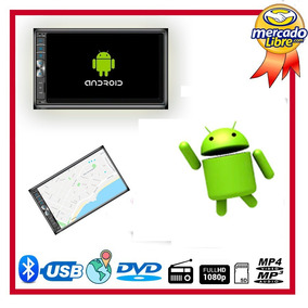 Radio Multimedia Quantum Android Doble Din Gps Usb Wifi