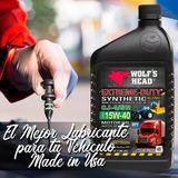 Aceite Wolf Head 15w40 Semisintetico
