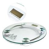 Balança Digital Banheiro Peso Corporal Vidro Temperado 180kg