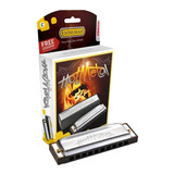 Armonica Hohner Hot Metal Diatonica Estuche Hotmetal Gtia
