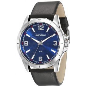 d2ed1889f26 Relógio Mondaine Moda Dourado Vsor Azul 60499lpmvde1 - Relógios De ...