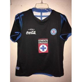 Cruz Azul Negra Umbro en Mercado Libre México cfe134a8c81