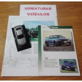 Miniatura - Auto Collection - Nº55 - Nissan Skyline Gtr 1993