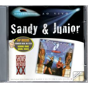 Cd Sandy & Junior Era Uma Vez Ao Vivo Millennium Edição Rara