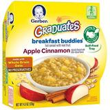 Gerber Graduates Desayuno Amigos - Apple Cinnamon Cereal, 4