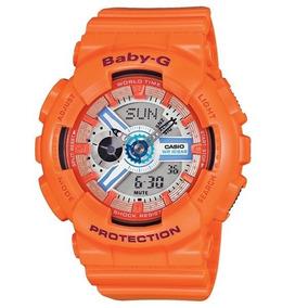 Relógio Baby-g Ba-110sn-4adr (laranja)
