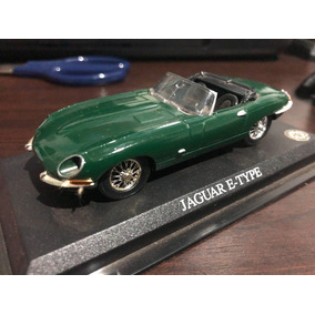 Miniatura Jaguar E-type 1961 Verde 1:43