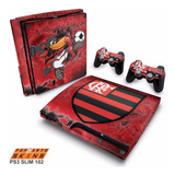 Adesivo Ps3 Slim Skin Playstation 3 Flamengo Time