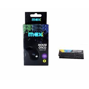 Kit Teclado E Mouse Usb Maxprint