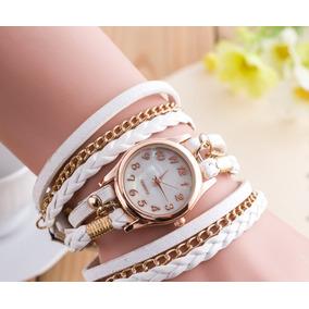 Relógio Bracelete Moderno Dourado Ótimo Preço