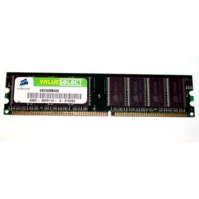 Memoria Corsair Valueselect Ddr 256mb Vs256mb400 Mcbo