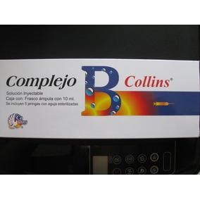 64cbd27d5 Complejo B 10 Ml Inyectable (10 Piezas) Envío Gratis