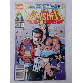 The Punisher Nº 52 - Maternity War - Mike Baron - 1991