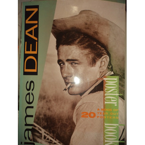 James Dean Poster Book Atlanta Press 1986 Gigante Excelente
