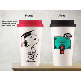 d01420e0bde Taza Vaso Tipo Starbucks Cerámica Snoppy Graduado. Envió