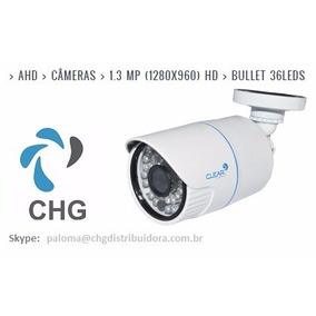 Câmera Bullet Ahd 1.3 Mpx 36 Leds Clear - Nova
