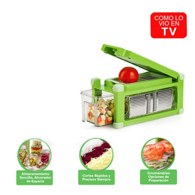 Nicer Dicer Magic Cube Plus Cortador Verduras Envio Gratis
