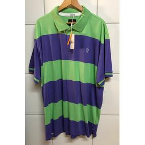 77f03809b6 Camiseta Gajang Gola Polo Verde lilás - G G 4