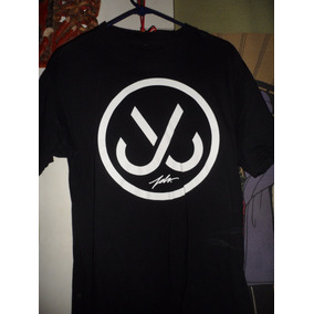Playera Just Livin In Medium Jslv Corp Black Negra
