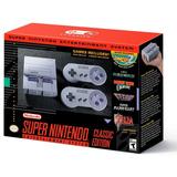 Snes Mini (super Nintendo Mini Classic), Macrotec