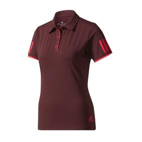 983854e690f1c Playera Entrenar Club Polo Vino adidas Dama Pol Udt D07573