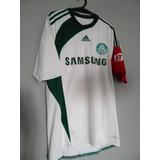 Camisa Palmeiras 2009 adidas - Uniforme Reserva - Numero 10