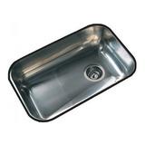 Pileta Bacha Simple De Cocina Johnson Z52/18 Acero Inox