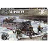 Mega Construx Call Of Duty Invasion En La Playa Con Tropas