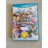 Super Smash Bros 4 Wii U Fisico Original