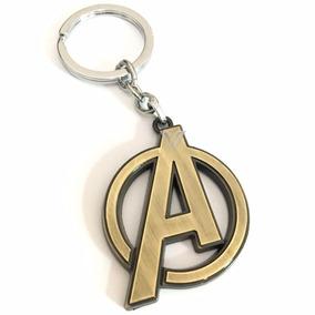 Chaveiro Avengers Logo Dos Vingadores De Metal Marvel Comics
