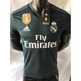 Camiseta Real Madrid 2018 2019 Visita Negra Nuevas Talla S