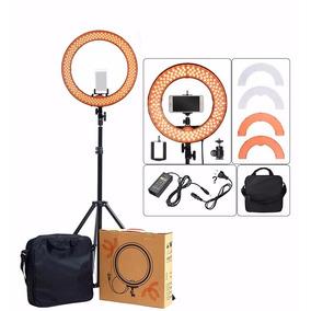 Kit Iluminador Ring Light Led Para Fotógrafos E Blog
