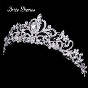 Corona Tiara De Novia Diadema Xv Años Coronaciones