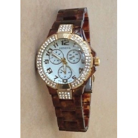 42dbebe1b750 Reloj Geneva Mujer  Beige Blanco Calipso Morado Animal Print ...