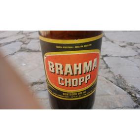 Garrafa De Cerveja Brahma Chopp Vazia