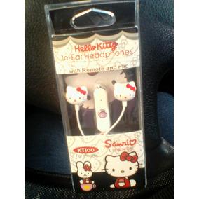 Audifonos Auriculares Para Cel, Pc, Ipod, Mp3 De Hello Kitty